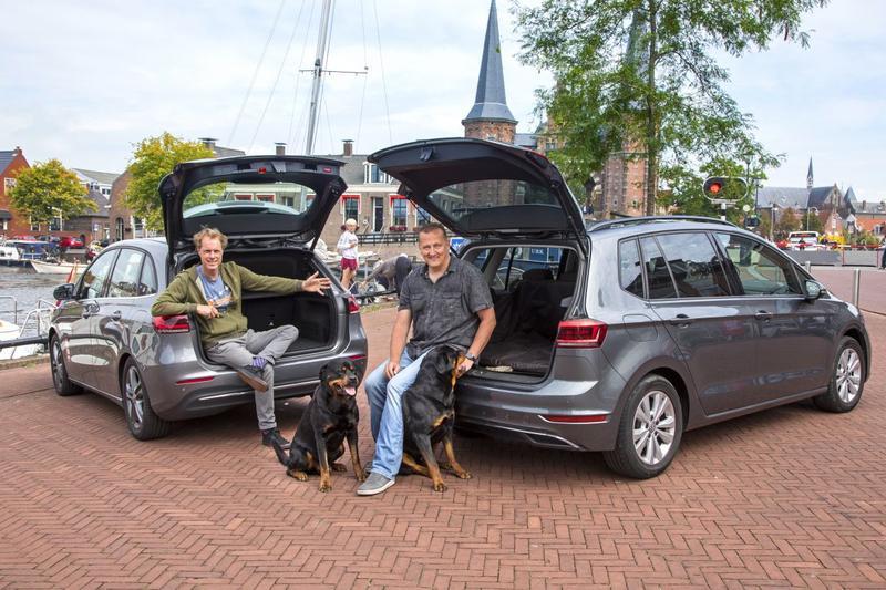 Mercedes-Benz B-klasse ontmoet Volkswagen Golf Sportsvan