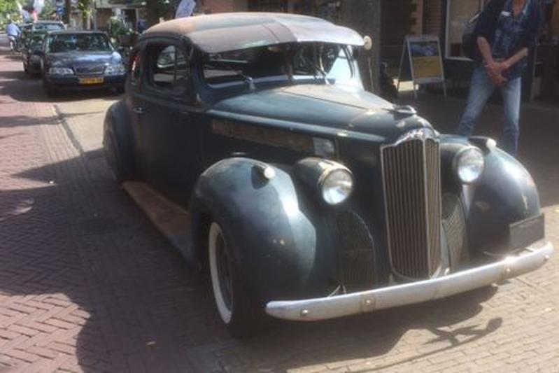In het Wild: Packard 120 Club Coupe (1939)