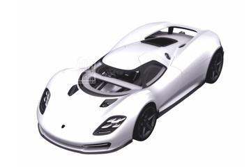 Mogelijk nieuwe hypercar van Porsche opgedoken