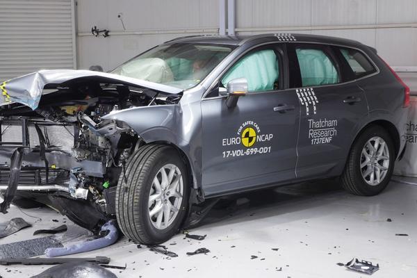 Volvo XC60 de veiligste in 2017