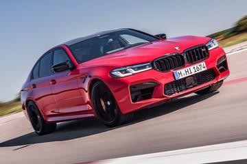BMW M5 én M5 Competition officieel strakgetrokken