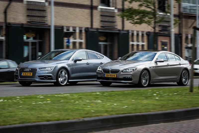 Dubbeltest - BMW 640d Gran Coupe vs. Audi A7 3.0 bi-TDI