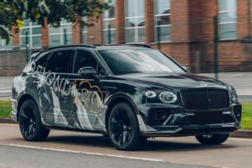 Nieuwe Bentley Bentayga Speed in beeld