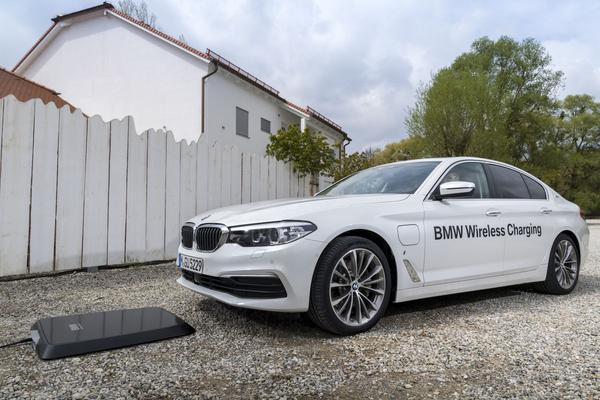 BMW inductielaadsysteem heeft prijs