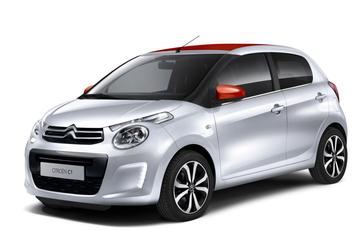 Citroën herziet leveringsgamma C1