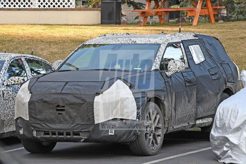 Zevenzits Chevrolet Blazer Spyshots