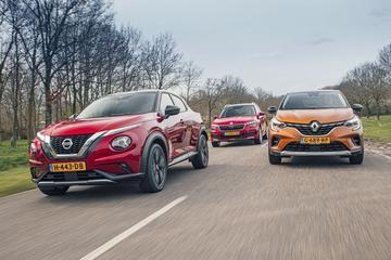 Nissan Juke - Renault Captur - Skoda Kamiq - Dubbeltest