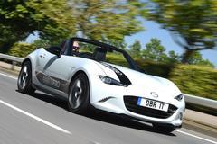Britse BBR traint Mazda MX-5 af