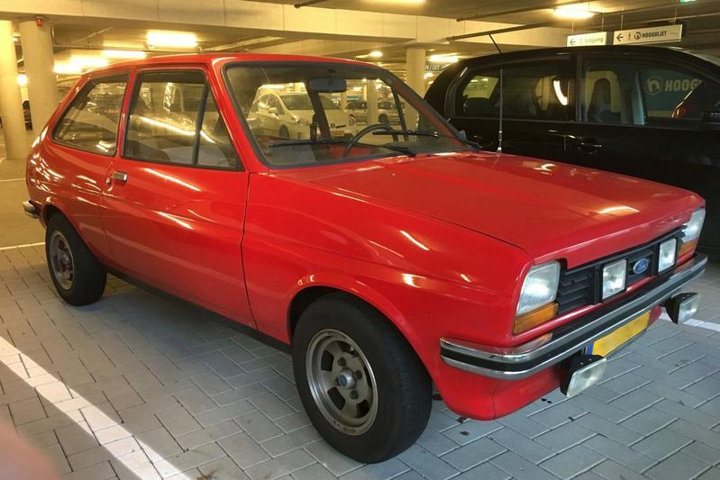 In het Wild: Ford Fiesta (1980)