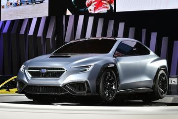 Subaru Viziv Performance Concept rolt spieren