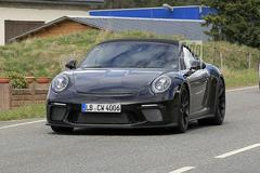 Is dit een nieuwe Porsche 911 Speedster?