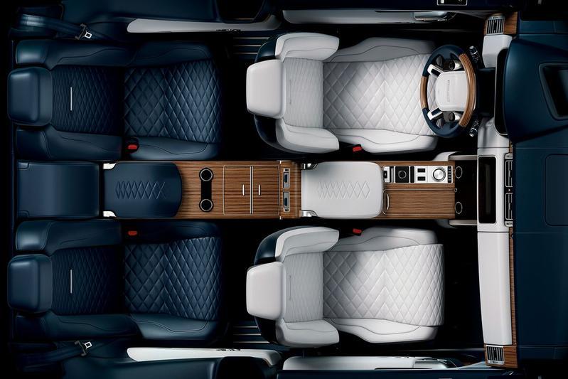Land Rover met Range Rover SV Coupé naar Genève