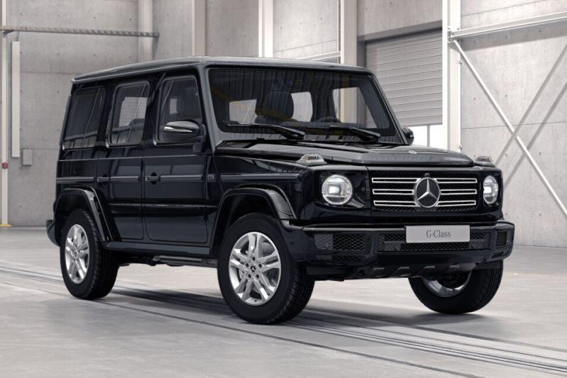 Mercedes-Benz G-klasse back to basics