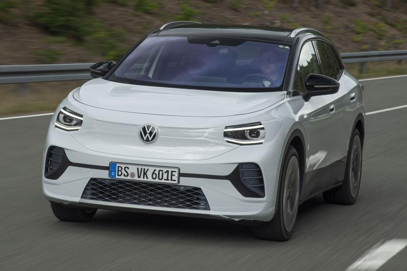 Volkswagen ID4 prototype - Eerste rijtest