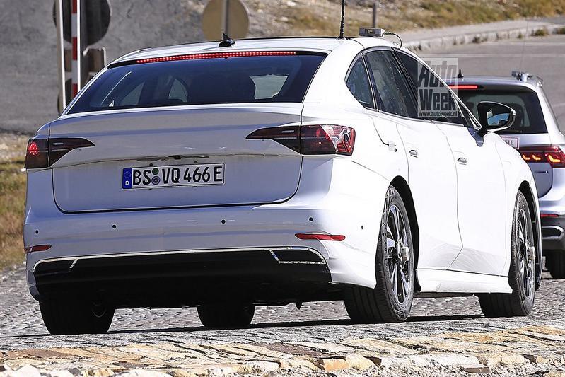 Volkswagen ID Aero spyshots