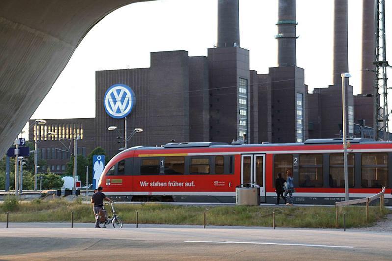 Volkswagen fabriek plant Wolfsburg