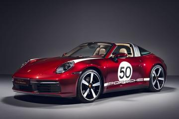 Porsche 911 Targa 4S als Heritage Design Edition