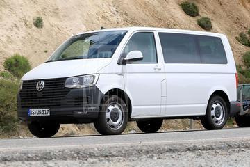 Volkswagen Transporter 'T7' verstopt zich