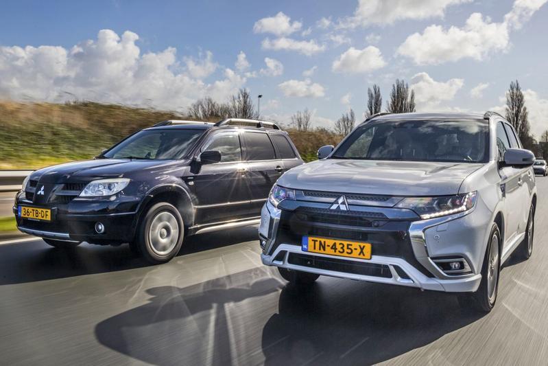 Mitsubishi Outlander - Oud & nieuw