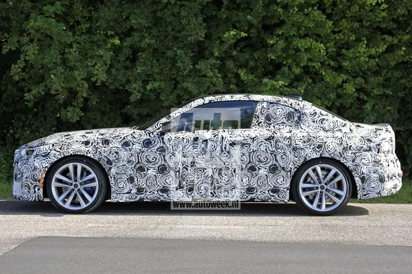 BMW 2-serie Coupé toont klassiek profiel