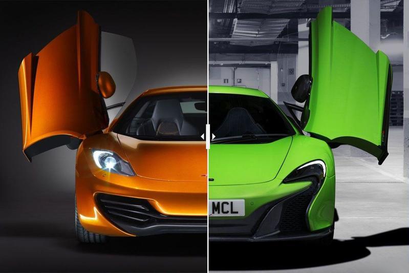 Facelift Friday: McLaren 12C/650S