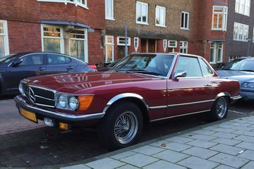 In het wild: Mercedes 450 SL (1973)