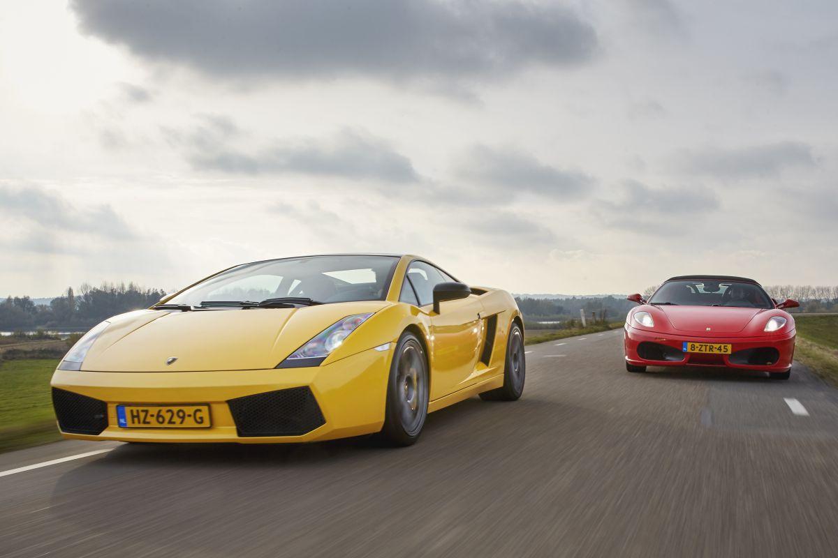 Lamborghini Gallardo SE vs. Ferrari F430 F1 Spider