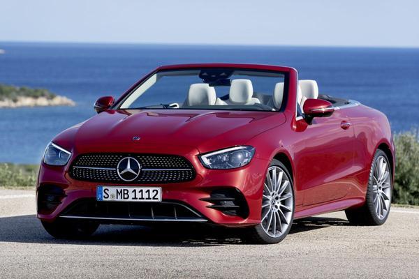 Mercedes-Benz E-klasse Cabriolet én Coupé vernieuwd