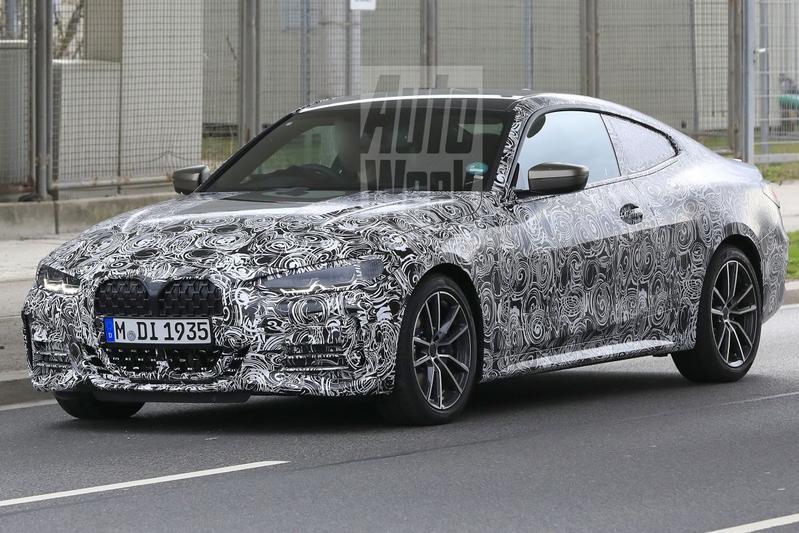 BMW 4-serie spionage
