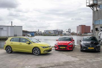 Ford Focus - Opel Astra - Volkswagen Golf - Triotest