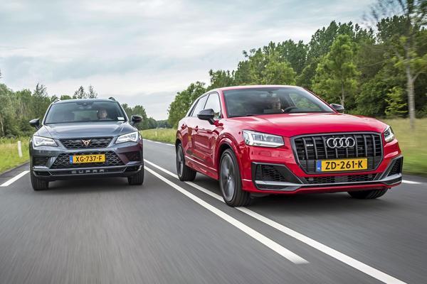 Audi SQ2 - Cupra Ateca - Dubbeltest