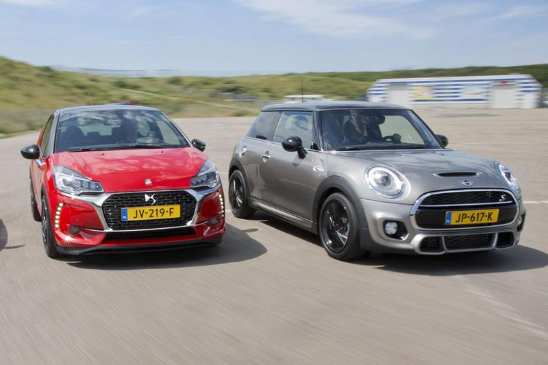 DS3 Performance vs Mini Cooper S - Dubbeltest