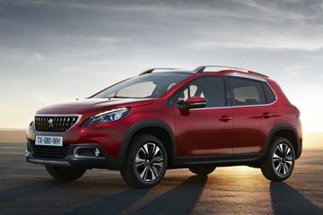 Prijskaartjes voor vernieuwde Peugeot 2008