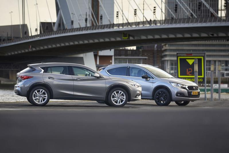 Dubbeltest - Infiniti Q30 vs. DS 4
