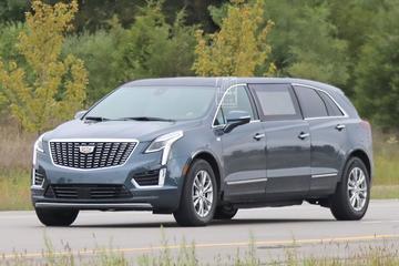 Extreem verlengde Cadillac XT5 duikt op