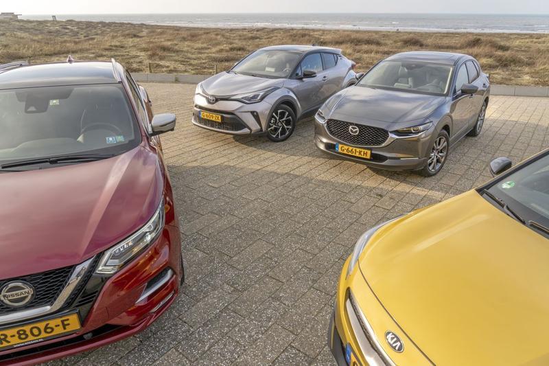 Cross-over multitest SUV strand Katwijk