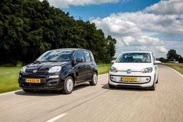 Fiat Panda vs. Volkswagen Up! - Occasion Dubbeltest