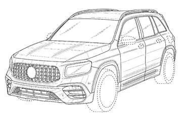 Dit wordt de Mercedes-AMG GLB 45!