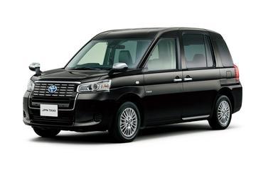 Toyota JPN Taxi meldt zich voor dienst