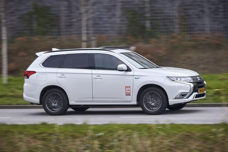 Mitsubishi Outlander PHEV plug-inhybride Duurtest