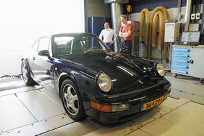 Porsche 911 3.6 Coupé - Op de Rollenbank