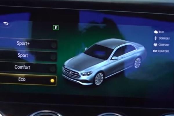 Gefacelifte Mercedes-Benz E-klasse duikt op