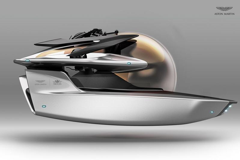Aston Martin presenteert duikboot