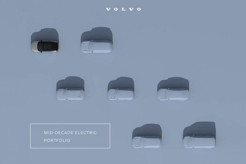 Volvo elektrisch teaser