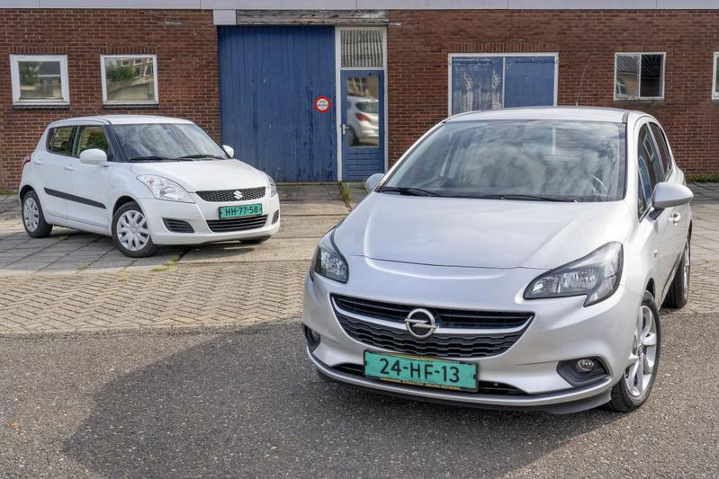 Occasion Suzuki Swift Opel Corsa tweedehands