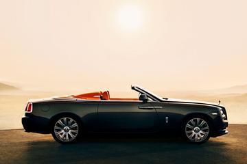 Rolls-Royce Dawn met Aero Cowling als optie