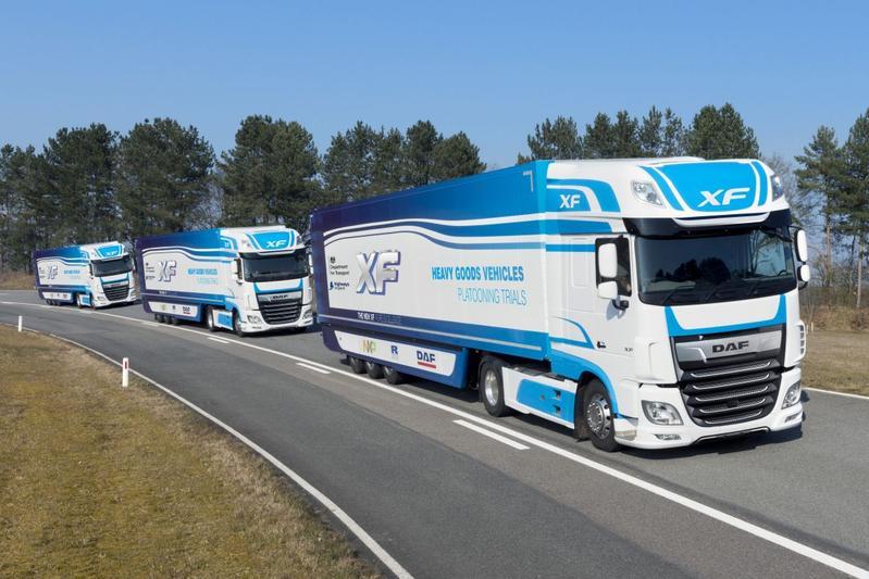 DAF Trucks doet mee aan proef platooning