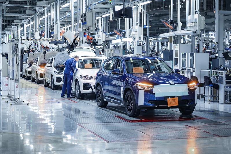 BMW productie iX3 China