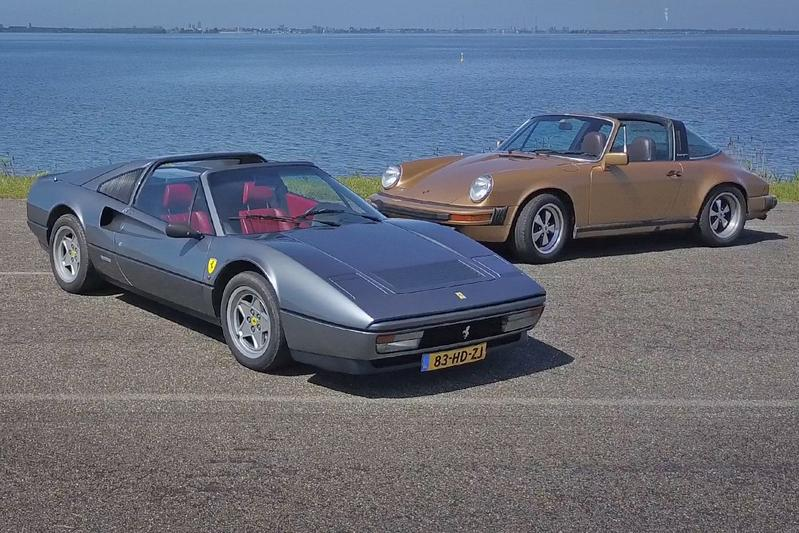 Ferrari 328 GTS vs. Porsche 911 SC - dubbeltest