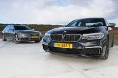 Audi S6 Avant vs. BMW M550i - Dubbeltest